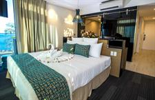 Taumeasina - Oceanview Hotel Room Taumeasina Island Resort