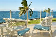 Taumeasina - Deluxe Ocenaview balcony Taumeasina Island Resort