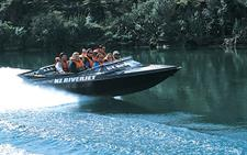 The Sleek Black Boat