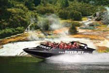 Thermal Boat Ride New Zealand River Jet