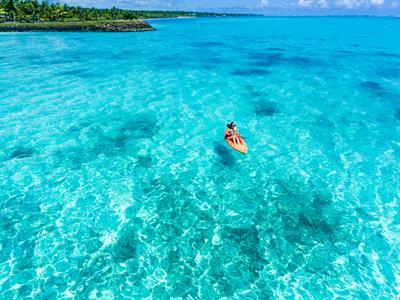 Amoa Resort - kayaking on the lagoon Amoa Resort
