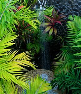 Amoa Resort - villa outdoor shower Amoa Resort