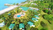 Amoa Resort - Aerial with beach Amoa Resort