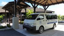 Aga Reef Resort - transfer vehicle Aga Reef Resort