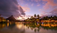 a - IC Resort & Thalasso Spa Bora Bora Sunset