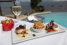 Aga Reef Resort - Restaurant dish Aga Reef Resort