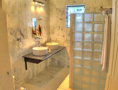 Villa Bathroom Return to Paradise Resort & Spa