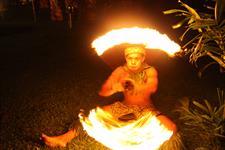 Tanoa Tusitala - Fire Dancing at the Fiafia Night Tanoa Tusitala Hotel