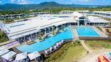Taumeasina - Aerial shot Taumeasina Island Resort