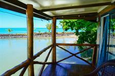Le Vasa - Lagoon fale deck Le Vasa Resort