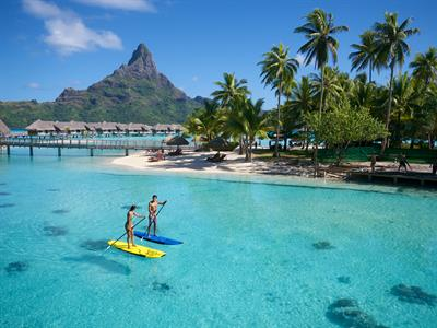 d - IC Resort & Thalasso Spa Bora Bora Paddle boar