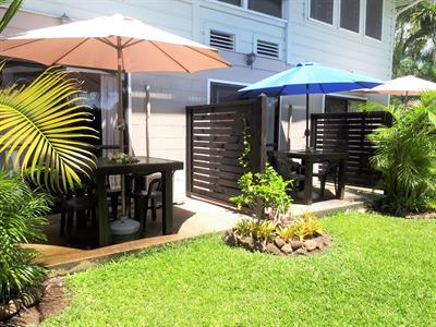 Samoa Outrigger - Air-Con Room Outdoor Patios