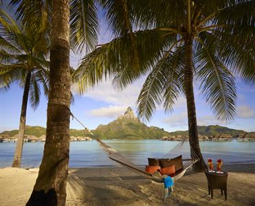 k - IC Resort & Thalasso Spa Bora Bora Hammock on