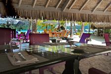 c - Le Meridien Bora Bora - Le Te Ava Restaurant Le Meridien Bora Bora