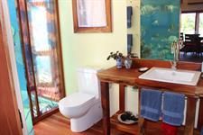 Kaireva Beach House - Toilet & Vanity Kaireva Beach House