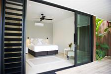 Stunning Bedroom Interior Pacific Palms Luxury Villa