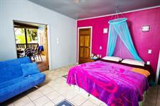 Arapati Beach Bach - Master bedroom Arapati Beach Bach
