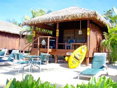 Rarotonga Beach Bungalows - Bungalow Exterior Rarotonga Beach Bungalows