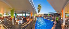 The Islander Hotel - Dining Area & Pool The Islander Hotel