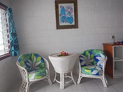 The Reef Motel Aitutaki - Dining Area The Reef Motel Aitutaki