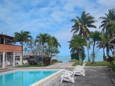 The Reef Motel Aitutaki - Swimming Pool The Reef Motel Aitutaki