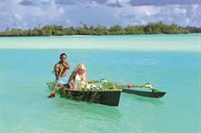 ALPIR - Bride on Vaka Aitutaki Lagoon Private Island Resort