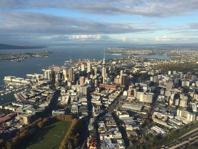 Auckland City Aerial View INFLITE Central Reservations