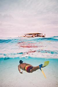 Swimming and Snorkelling Air Rarotonga