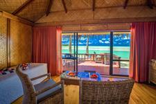 ALPIR - Deluxe Beachfront Bungalow Aitutaki Lagoon Private Island Resort