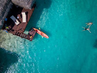 ALPIR - Overwater Bungalow Aitutaki Lagoon Private Island Resort
