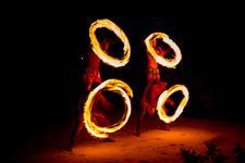 ALPIR - Island Night Fire Dance Show Aitutaki Lagoon Private Island Resort