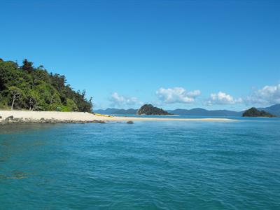 Planton Island looking at Denman