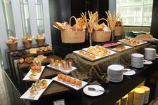 Breakfast Set Up at Swiss Cafe Restaurant Swiss-Belhotel Balikpapan
