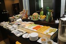 Breakfast Set Up at Swiss Cafe Restaurant