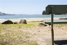 Whititanga Beach Across the Road