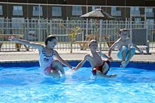 Fun in the Pool Oceans Resort Whitianga