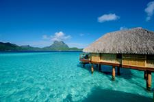 End of Pontoon Overwater Suite - Bora Bora Pearl Beach Resort & Spa