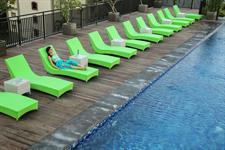 Rooftop Swimming Pool Zest Hotel Legian