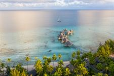Tikehau Pearl Beach Resort - Aerial View - Overwater Suites