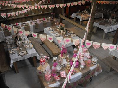 Cafe & Functions Weddings dining space