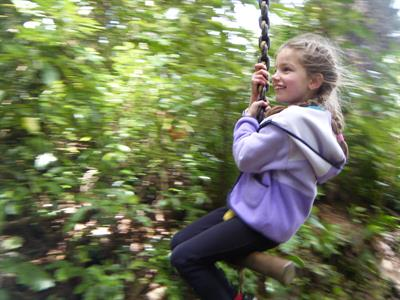 Explore Staglands - Activities for children swing
