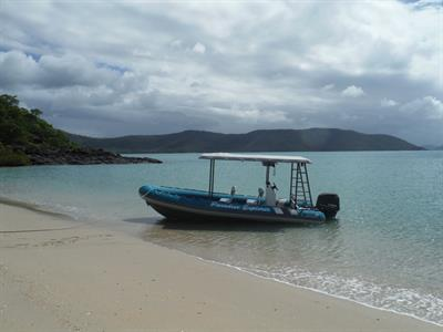 Ashore at Woodwark Bay