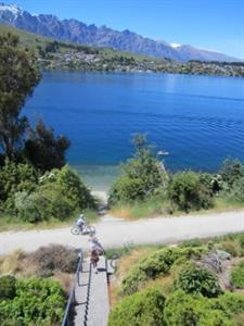 View of Frankton Walkway & Cycle Trail from Villas Villa del Lago