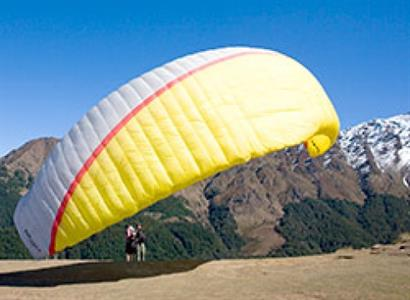 Paragliding Villa del Lago