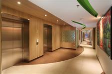 Lift Corridor Zest Hotel Sukajadi Bandung