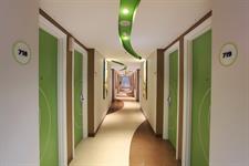 Room Corridor Zest Hotel Sukajadi Bandung