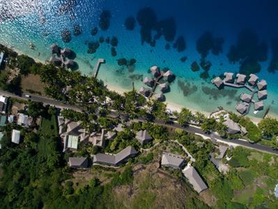 a - Maitai Polynesia Bora Bora - aerial Maitai Polynesia Bora Bora