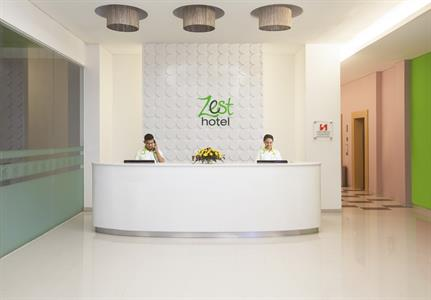 Zest Reception Zest Hotel Yogyakarta