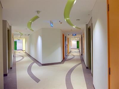 Hotel Corridor Zest Hotel Airport Jakarta