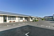 carpark Comfort Inn Academy